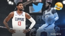 Fans roast Paul George predicting a higher rating for himself on NBA 2k21