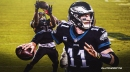 Eagles QB Carson Wentz breaks down play behind wild game-winning TD vs. Giants