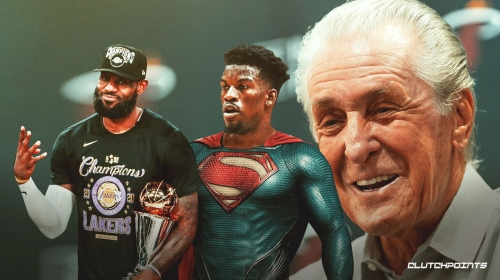 Heat's Pat Riley gives LeBron James a shoutout after NBA Finals duel with 'Superman' Jimmy Butler