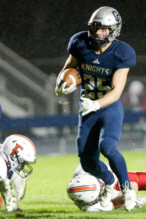 Central Catholic finishes strong to put away Frontier