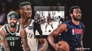 John Wall looks scary in pickup game vs. Kyrie Irving, Caris LeVert