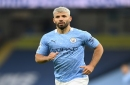 Sergio Aguero suffers hamstring injury against West Ham United