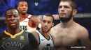 NBA players react to stunning Khabib Nurmagomedov UFC 254 victory, retirement announcement