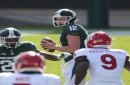 Michigan State's Rocky Lombardi on rash of turnovers: 'That's 1 heckuva way to start a game'