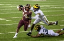 Michigan safety Daxton Hill 'being evaluated' after leaving early in Wolverines' win at Minnesota