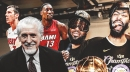 Heat's Pat Riley clarifies NBA Finals 'asterisk' comment after some construed it as Lakers diss