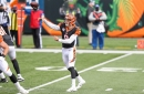 Burrow-to-Boyd TD gives Cincinnati Bengals lead at end of first half vs. Cleveland Browns