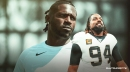 Cam Jordan throws shade at Antonio Brown when asked about matchup