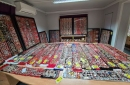 The world's 'largest' collection of Manchester United badges is being sold