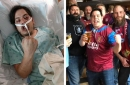 Meet the Villa fan with seeping skin who battled back off his bed