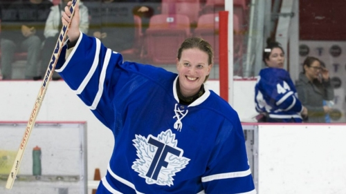 Sami Jo Small on her new book, the future of women's hockey | Top Of Her Game