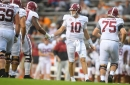 Alabama defeats Tennessee but loses Jaylen Waddle