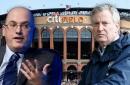 Mayor de Blasio's cagey response on blocking Mets sale to Steve Cohen
