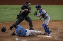 Dodgers News: Max Muncy Key To Clayton Kershaw Catching Manuel Margot On Attempted Steal Of Home