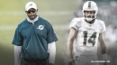 Dolphins' Brian Flores sidesteps question about Ryan Fitzpatrick trade
