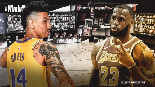 Lakers' LeBron James' plans if season starts before Christmas, per Danny Green