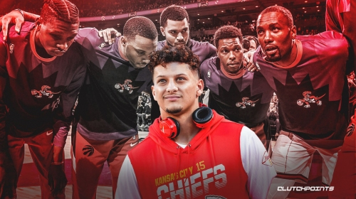 Chiefs' Patrick Mahomes wants Raptors in Kansas City next season