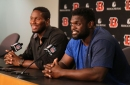 As Carlos Dunlap forces his way out of Cincinnati, Geno Atkins is handling his demotion like a pro