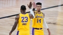 Danny Green says LeBron, Lakers' veterans might sit first month if NBA starts in December
