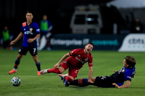 Toronto FC's Pablo Piatti could miss the rest of MLS regular season with calf injury