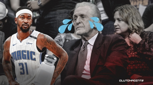 Pat Riley is 'salty' with Finals asterisk comments, per Terrence Ross