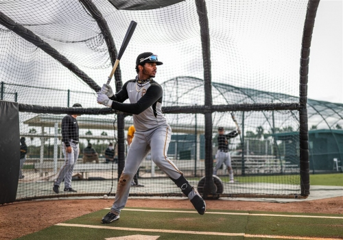 Fun-loving shortstop prospect Liover Peguero has quickly made an impression on the Pirates