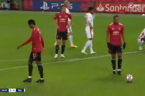 Marcus Rashford explains why he did not take Manchester United penalty