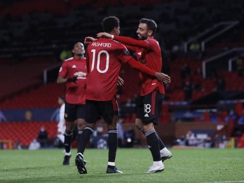 Result: Marcus Rashford hits brilliant hat-trick as Manchester United thump RB Leipzig