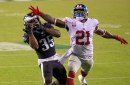 Giants' DB coach Jerome Henderson pulls no punches about late-game mistakes
