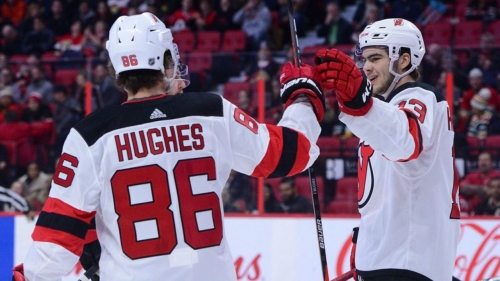 Devils need Jack Hughes and Nico Hischier to take next step offensively