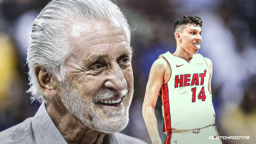 Heat's Pat Riley gushes on about Tyler Herro's meteoric rise