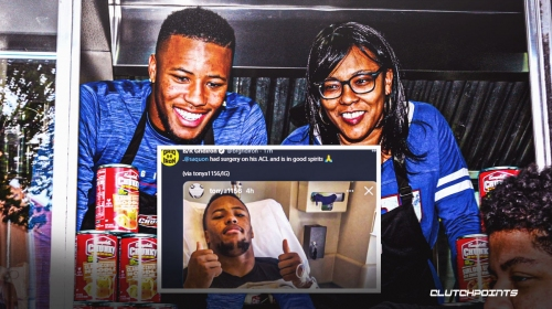 Giants RB Saquon Barkley has successful ACL surgery, per his mom