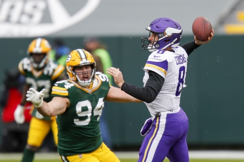 Thanks to Dalvin Cook, Vikings' Kirk Cousins doesn't need to throw much on windy day