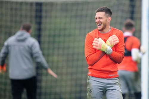 Freddie Woodman was desperate to return but he hates watching football now