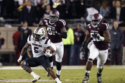 Odds: South Carolina vs. Texas A&M