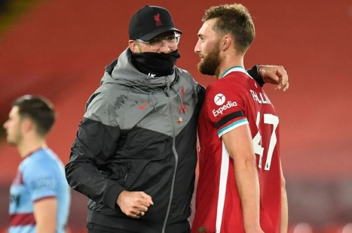 Nathaniel Phillips shines for Liverpool just weeks after Swansea City links