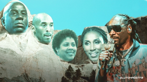 Snoop Dogg puts Lakers legends Magic Johnson, Kobe Bryant on L.A. sports Mount Rushmore