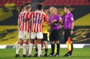 Stoke City boss Michael O'Neill's verdict on referee in defeat at Watford