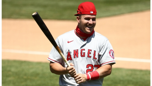 Angels' Mike Trout wins another Silver Slugger award