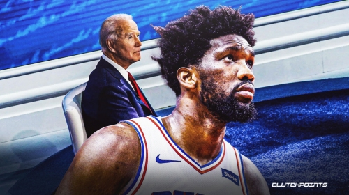 Joel Embiid reminds everyone the value of trusting the process after Joe Biden's win