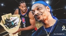 VIDEO: Lakers fan Snoop Dogg gets a lot of love from Clippers star Kawhi Leonard