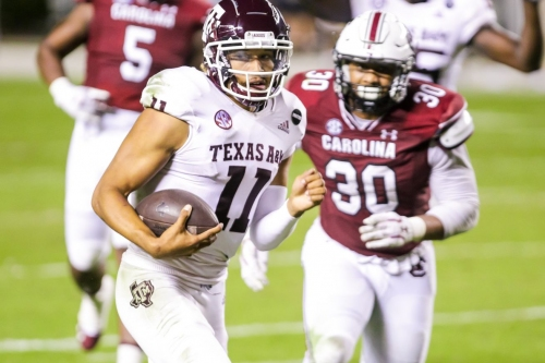 Gamecocks put up no fight in listless 48-3 loss to Texas A&M