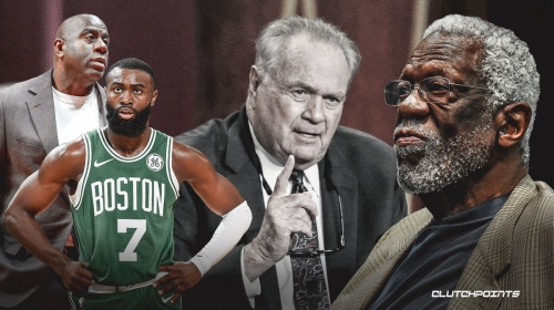 Bill Russell, Jaylen Brown, Magic Johnson send love to Tommy Heinsohn after Celtics legend's passing
