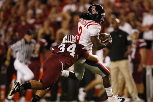 Odds: South Carolina at Ole Miss