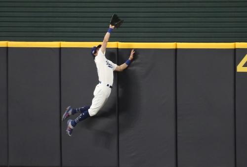 Best Dodgers Plays Of 2020 Postseason: No. 1, Cody Bellinger Robs Fernando Tatis Jr.