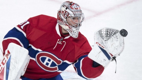 Carey Price starts season with 10 straight wins   This Day In Hockey History