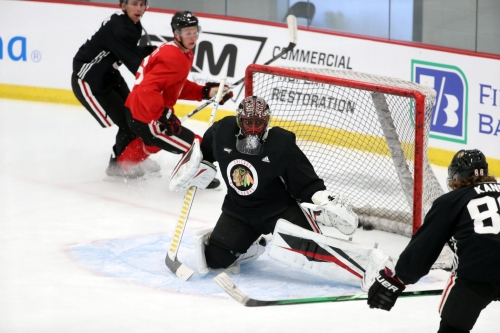 Malcolm Subban has been preparing his whole life to be a starting NHL goalie. Now he has a shot with the Chicago Blackhawks.