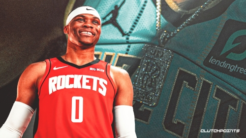 Russell Westbrook would look great in Hornets' new minty fresh jerseys