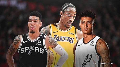 Rumor: Lakers interested in trading Kyle Kuzma, Danny Green for Spurs' DeMar DeRozan
