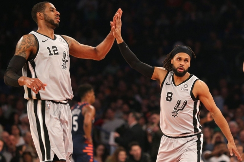 The more trade rumors the Spurs are involved in, the better